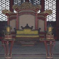 Пекин, Запретный город, трон императора :: Сергей Смоляр