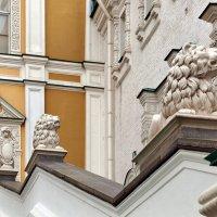 Львы Царского крыльца в Кремле :: Михаил Малец