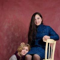 Юлия и Малика :: Ирина Афонасенко