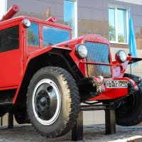 Old fire engine :: Николай Н