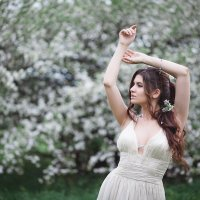 Яблони в цвету) :: Елена Семёнова