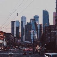 Москва Сити :: Дмитрий Рожков