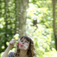 Мыльные пузыри :: Дарья Медведева