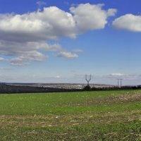 Облака над полем. :: владимир