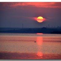 Восход на далеком озере :: Ольга Голубева