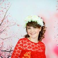 Фотосессия беременности в студии Самары :: марина алексеева
