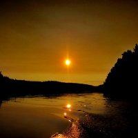 закат... :: Ольга Cоломатина
