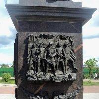 Памятная стела, установленная в честь присвоения городу Козельску звания Город Воинской Славы :: Ольга Кривых