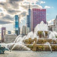 Букингемский фонтан в Чикаго :: Лёша