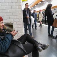 Парижское метро :: Elen Dol