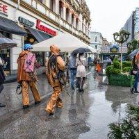 Какой настырный дождь, однако! И водолаз всяк пешеход... :: Ирина Данилова