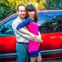 влюбленная пара :: анатолий грицаенко