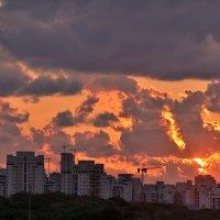 Огненный закат :: Arkady Berg