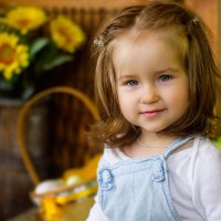 портрет девочки :: Ванда Азарова