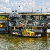 чистка москва-реки :: megaden774
