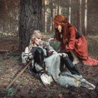 Волчица и Лисица :: Мария Дергунова
