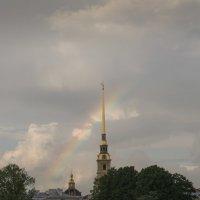 Радуга над Петропавловкой :: Владимир Филимонов