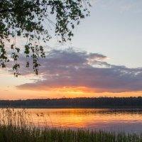 закат на Волге :: Сергей Калистратов