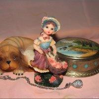 Хозяйка и верный пёс :: °•●Елена●•° Аникина♀