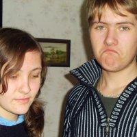 Марина и Саша - родные сестра и брат. :: Галина Дашевская