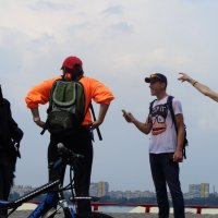 Новое развлечение рокеров и велосипедистов: Танец со смертью... :: Алекс Аро Аро