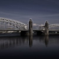Мост Петра Великого :: Анна Кокарева