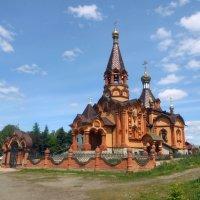 Храм великомученицы Екатерины с. Сростки :: Ольга