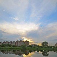 закат Петербургских окраин :: Елена