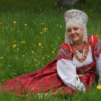 В национальном костюме :: Ирина Шурлапова