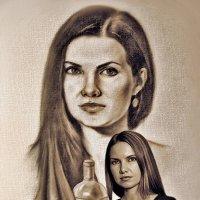 """""""Портрет в сепии"""" :: Давид Манакьян"""