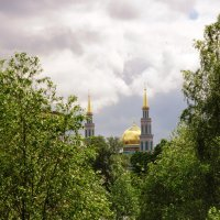 Пейзаж Екатериниского парка :: Виктор Берёзкин