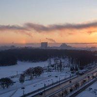 Морозное утро в Минске :: Олег Пученков