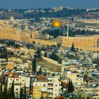 Иерусалим, вид на Старый Город. :: Игорь Герман