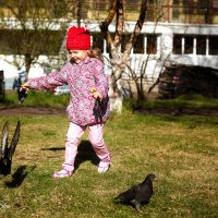 Мы гоняли голубей :: Аннета /Анна/ Шу