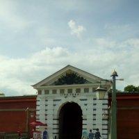 Главный вход в Петропавловскую крепость. (Санкт-Петербург) :: Светлана Калмыкова
