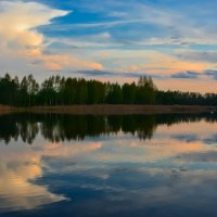 на озере... :: Евгения