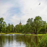 Парк победы летом. :: Рома Григорьев