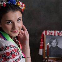 Оксана- Вечера на хуторе близ Диканьки, Гоголь :: Светлана Курцева