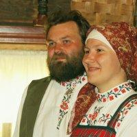 Выкуп невесты: 3. Родители невесты. :: Николай Карандашев