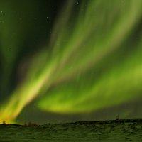 Сполохи сияния в Арктике :: Александр Велигура