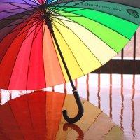 Дождик разноцветный! :: Наталья Казанцева