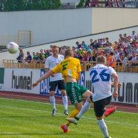 Кубок Балтии. Литва-Эстония 2:0 :: Леонид Соболев