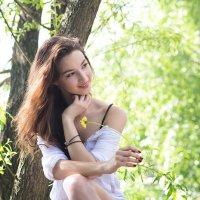Девушка в лодке :: Андрей Макаров