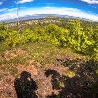 Ух ты, а земля то действительно круглая...  Фото-шутка с Samyang 8mm. :: Сергей Щелкунов