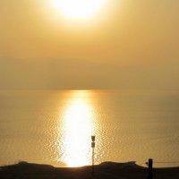 Восход над Мёртвым морем :: Герович Лилия
