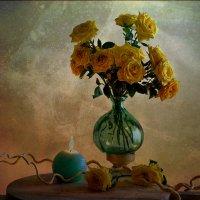 желтые розы :: татьяна