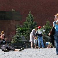Фотосессия на Красной площади :: Grey Bishop