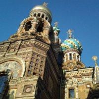Фрагмент храма Спаса на Крови.Санкт-Петербург. :: Жанна Викторовна