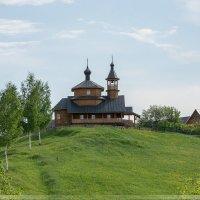 Церковь в д.Большие Светицы :: Павел Москалёв