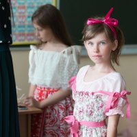 портрет девочки с голубыми глазами :: Sofia Rakitskaia